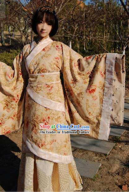 Ancient Winter Blouse Hanfu Clothing for Women