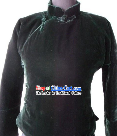 Traditional Chinese Winter Jacket for Women