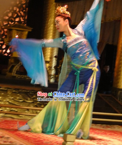 Ancient Chinese Palace Dancer Costumes Complete Set