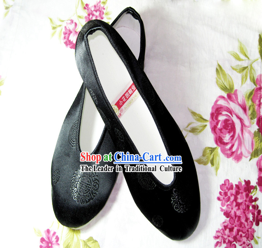 Chinese Hand Made Hanfu Embroidery Shoes