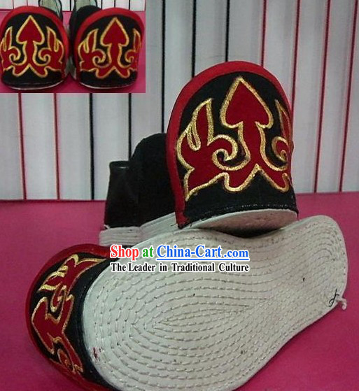 Chinese Classical Hand Made Hanfu Embroidery Shoes