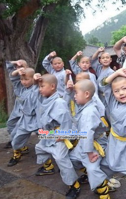 Chinese Shaolin Monk Dress for Children