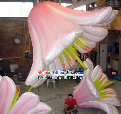 Inflatable Lily Flower