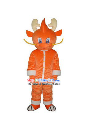 Chinese Dragon Children Mascot Costumes Complete Set