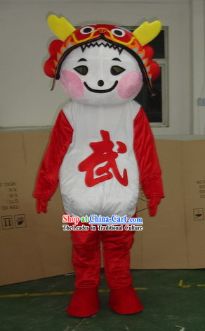 Chinese Olympic Games Mascot Costumes Complete Set