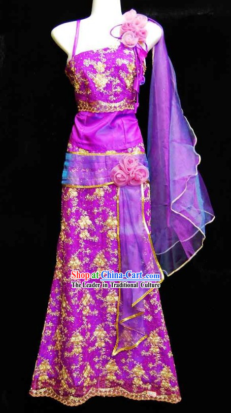 Traditional Thai Wedding Dress for Women