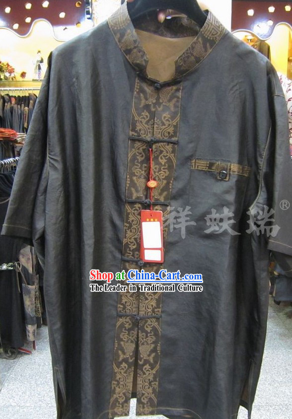 Chinese Peking Rui Fu Xiang Dragon Tang Suit for Men
