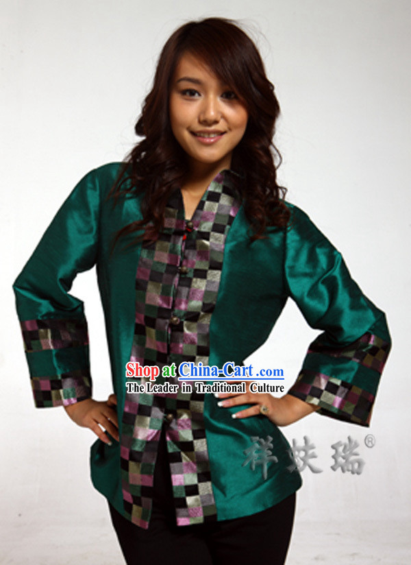 Traditional Chinese Rui Fu Xiang Blouse for Women