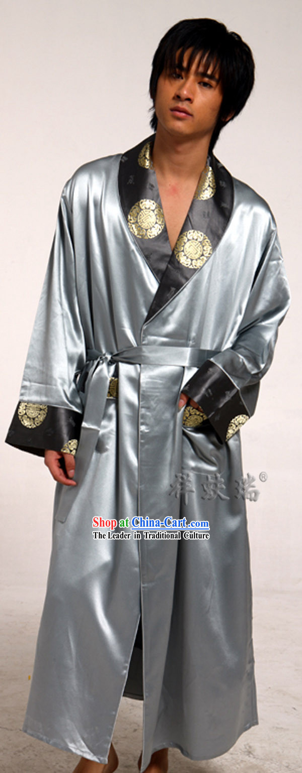 Traditional Chinese Beijing Rui Fu Xiang Silk Pajama for Men