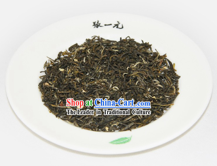 Chinese Zhang Yiyuan White Dragon Jasmine Tea Leaf