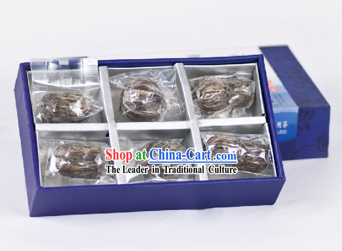 Chinese Zhang Yiyuan Longjing Flower Arts Tea Leaf in Gift Package
