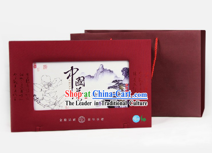 Chinese Zhang Yiyuan Yun Wu Mao Feng Jasmine Tea in Gift Package