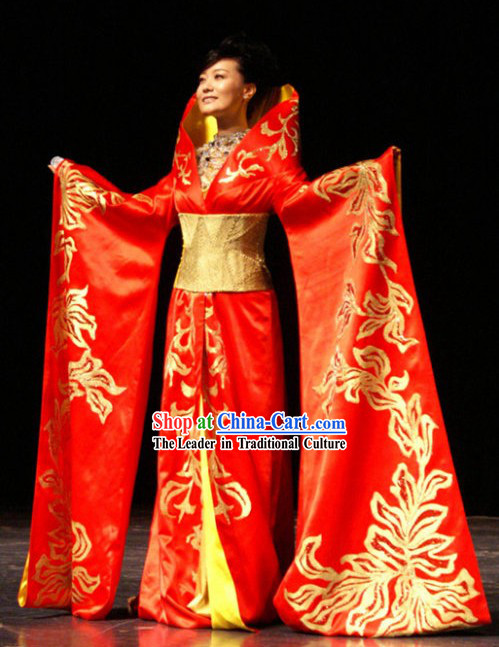 Traditional Chinese Wedding Dress Complete Set