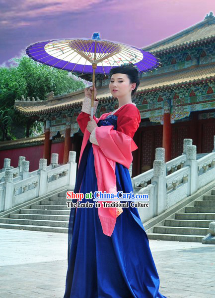 Ancient Tang Dynasty Imperial Beauty Clothing