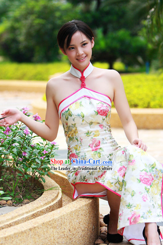 Stunning Design Chinese Wedding Cheongsam Qipao