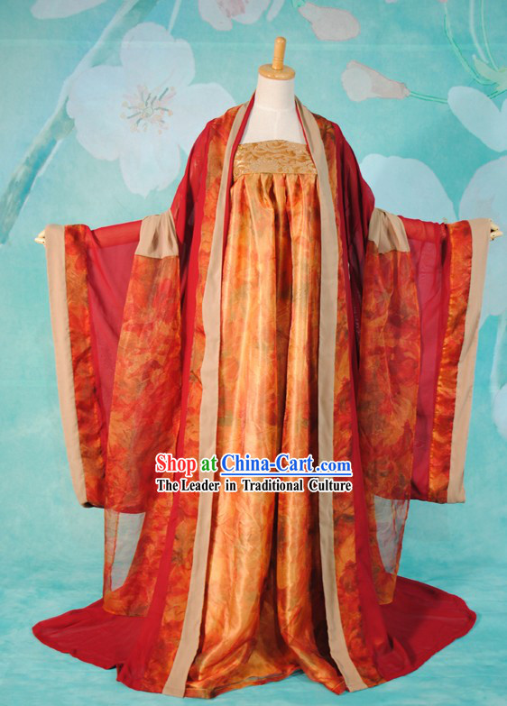 Ancient Chinese Empress Dress Complete Set