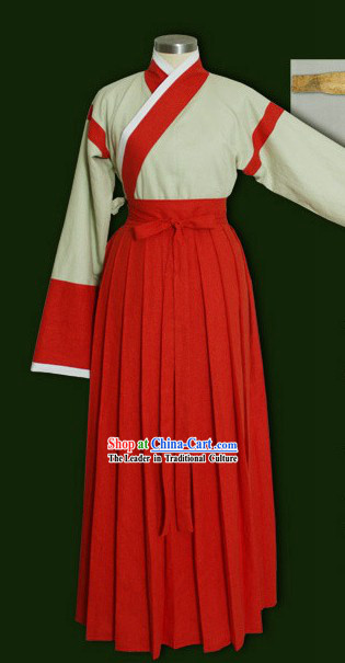 Chinese Wei and Jin Dynsty Women Clothing