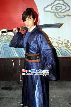 Ancient Chinese Swordsman Costumes