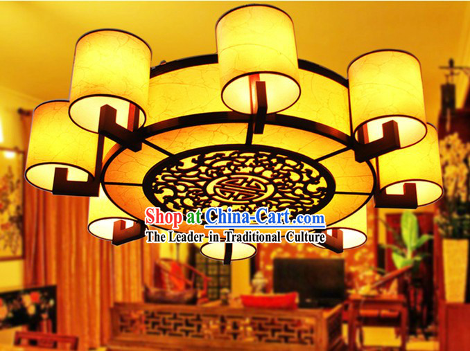 47 Inches Large Traditional Chinese Ceiling Lantern