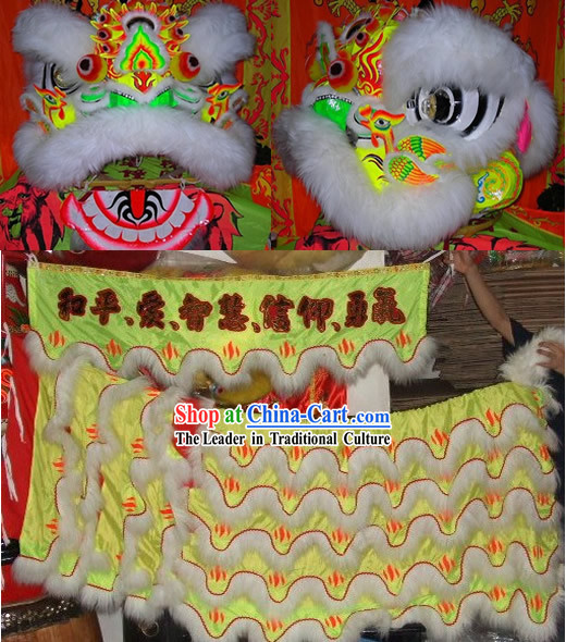 Phoenix Classical Lion Dance Costume Complete Set