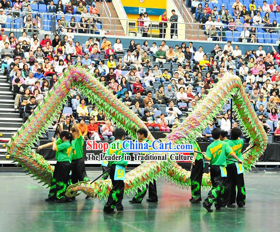 Illuminated Dragon Dance Equipment Costumes Complete Set