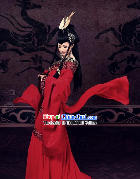 Ancient Chinese Imperial Empress Costumes Complete Set