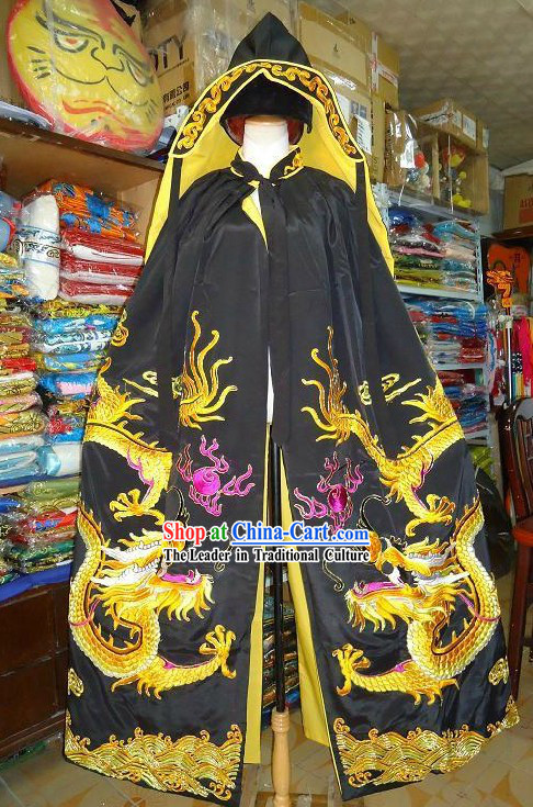 Ancient Chinese Emperor Dragon Cloak