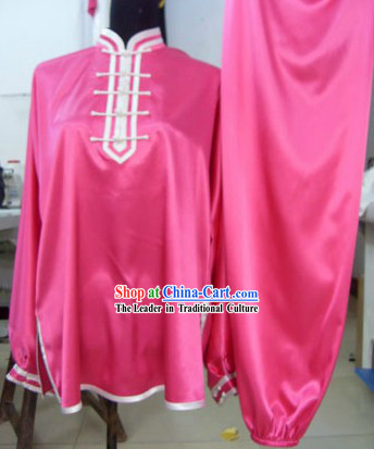 Chinese Silk Kung Fu Uniform for Women