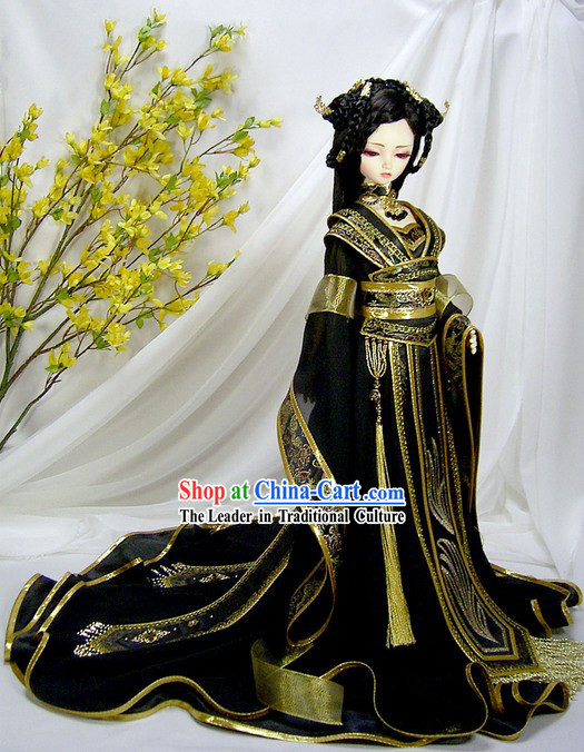 Ancient Chinese Empress Clothing Complete Set
