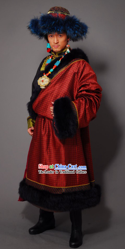 traditional tibetan robe for