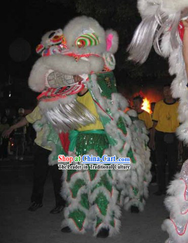 Supreme Festival Ceremony Lion Dance Costume Complete Set