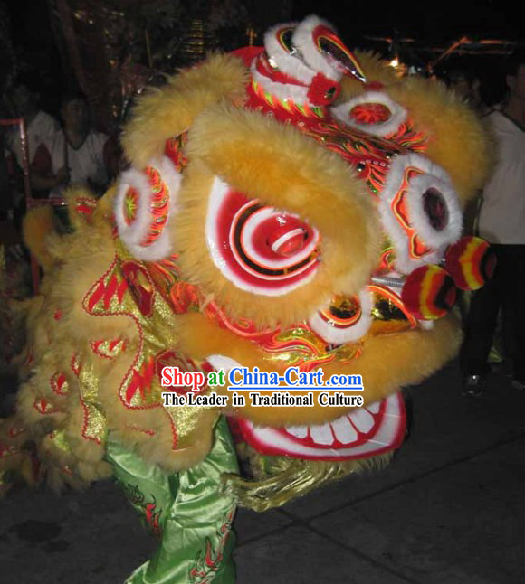 Lucky Opening Celebration Southern Lion Dance Costumes Complete Set
