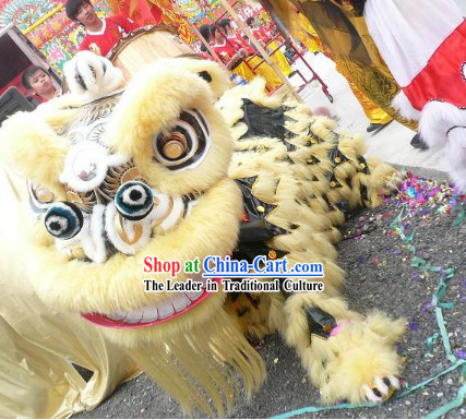 Supreme Competition and Performance Lion Dance Costume Complete Set