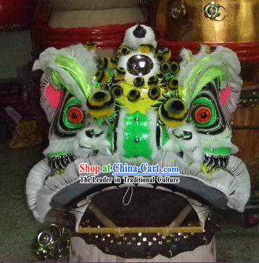 Chinese Classic FUT SAN Lion Dance Costumes Complete Set