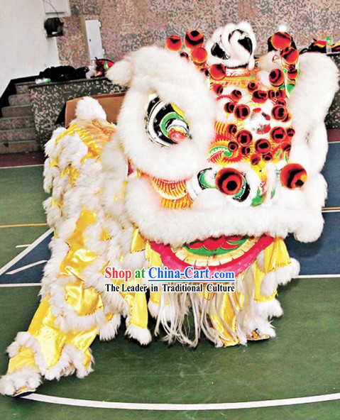 Festival Celebration Chinese Lion Dance Costumes Complete Set