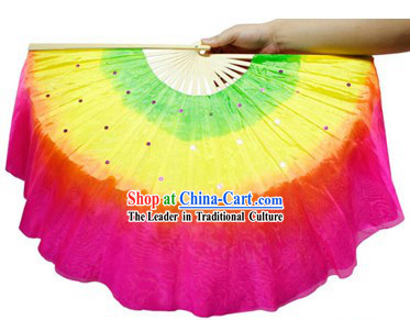 Traditional Chinese Colorful Dancing Fan