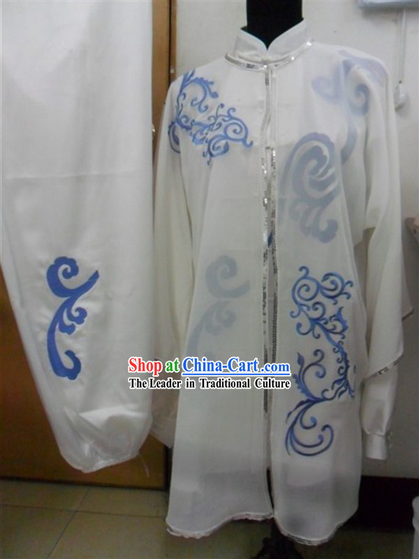 Traditional Chinese Tai Chi Kung Fu Suit and Cape Set