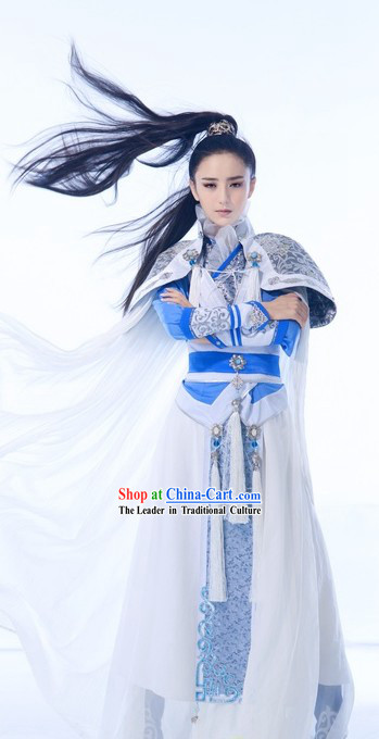 Ancient Chinese Swordsman Costumes Complete Set