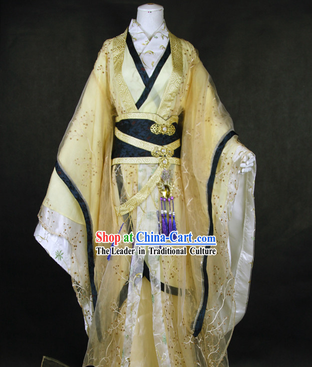 Ancient Chinese Royal Hanfu Clothing Complete Set for Men