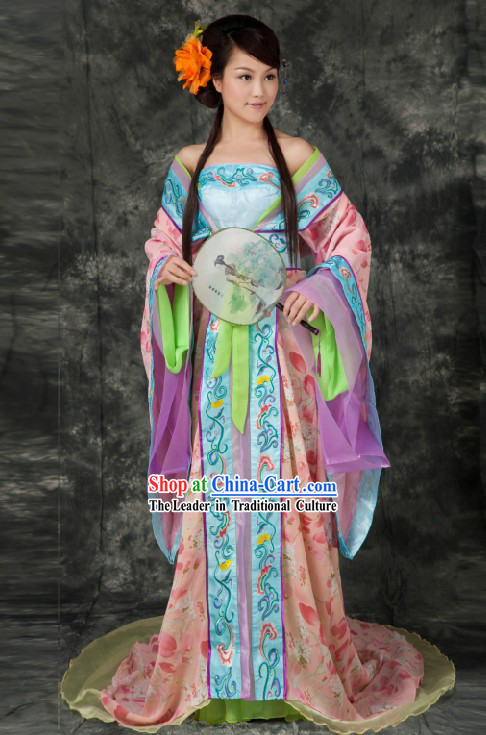 Ancient Chinese Tang Palace Empress Costumes for Women