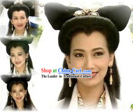Ancient Chinese Bai Suzhen Fairy Wig for Women