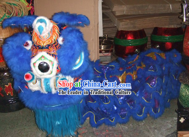 Supreme Competition and Celebration Lion Dancing Costume Complete Set