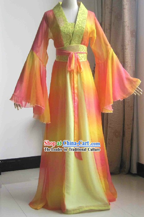 Chinese Classical Han Female Clothing Three Pieces Complete Set