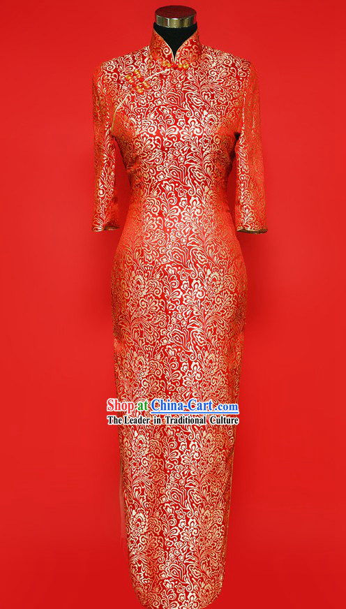 Chinese-style Xiao Feng Xian Wedding Suit of Skirt for Brides
