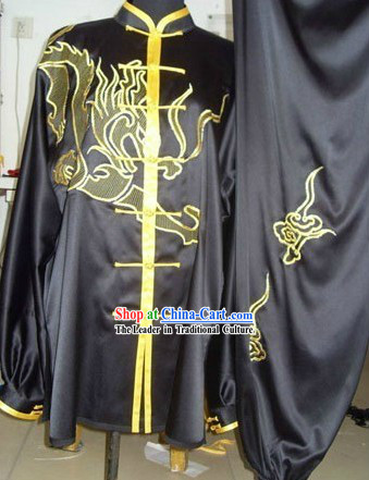 Changquan Long Fist Dragon Silk Performance Uniform for Men