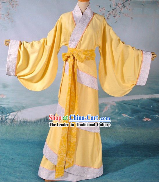 Ancient Chinese Palace Maid Costume Complete Set for Women