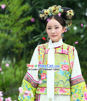 Ancient Chinese Qing Dynasty Princess Dress