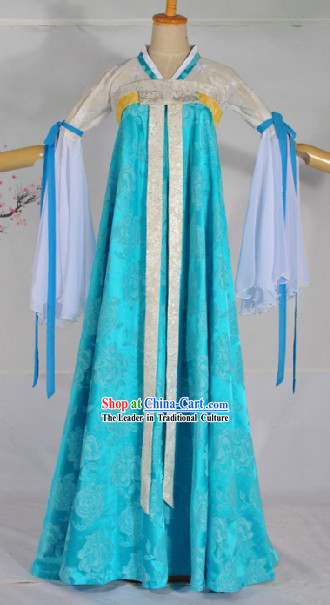 Tang Dynasty Maid Costumes Complete Set for Women