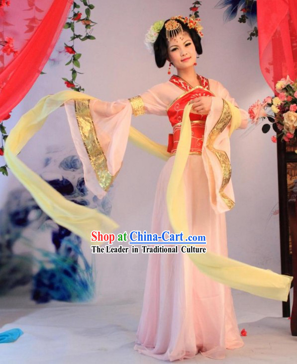 Ancient Chinese Tang Dynasty Palace Maid Lady Costumes