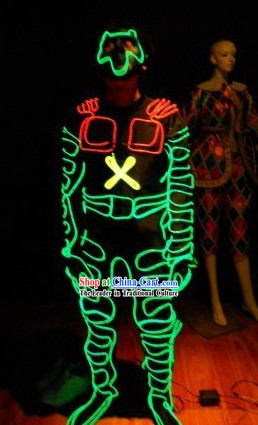 Professional Light Up Costume